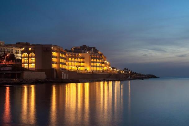 Il Covid hotel maltese (Ansa)
