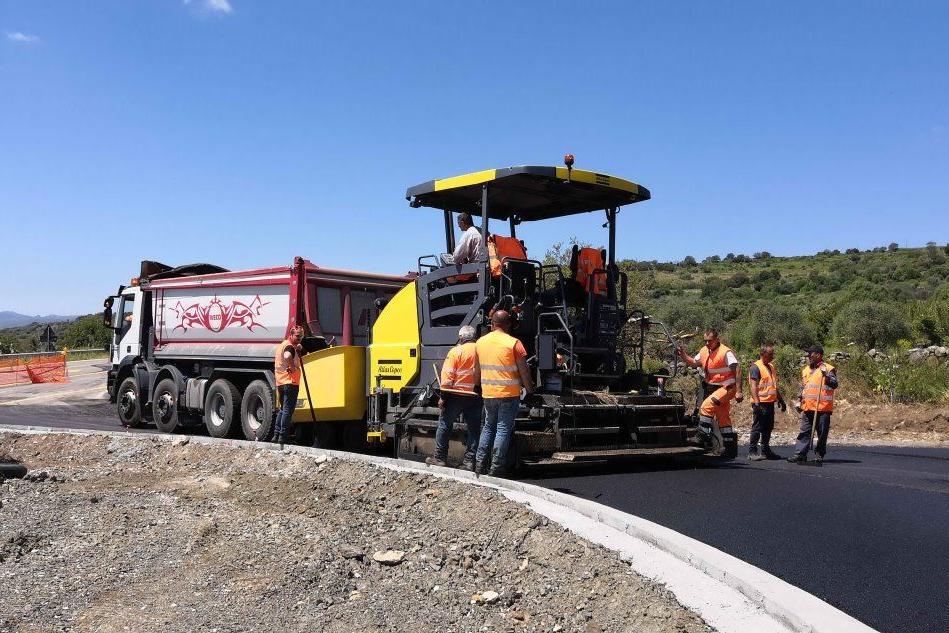Statale 129, proseguono i lavori nella zona di Bortigali