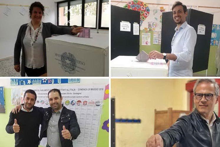 Europee, politici e candidati sardi al seggio