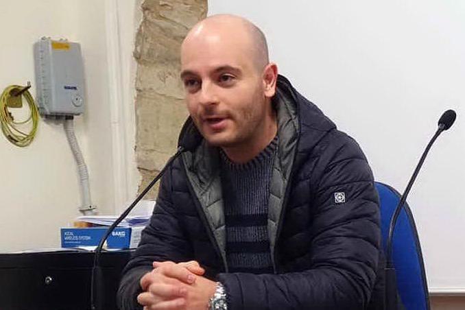 Marco Sideri, sindaco di Ussaramanna (foto Pintori)