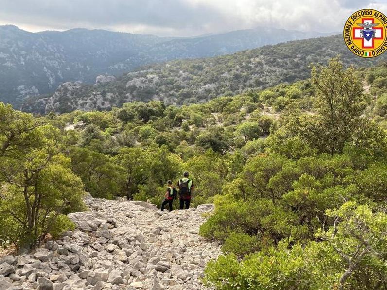 Escursionista disperso nel Supramonte: ricerche in corso