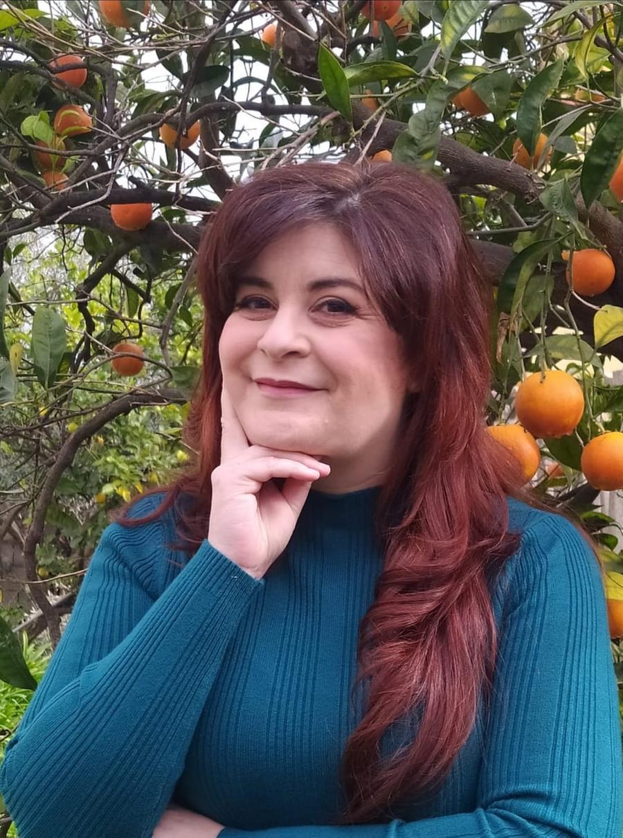 Maria Giovanna Carta, 47 anni, a capo della lista Noi per Domusnovas\u00A0(foto Farris)