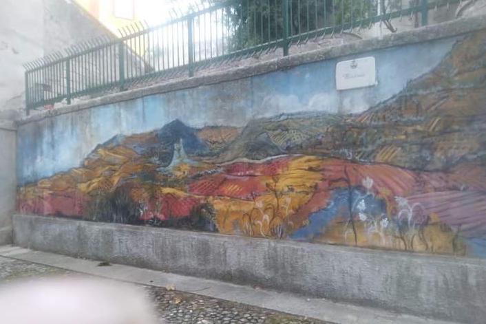 """Bono, a rischio il muraledi Liliana Cano: """"Restaurourgentee necessario"""""""