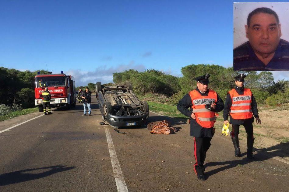 Nuova tragedia sulle strade sarde:automobilista muore in uno scontro