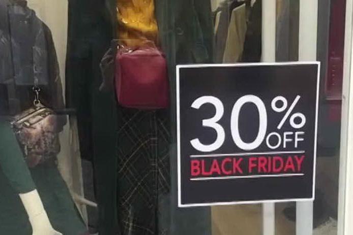 Black Friday, per un italiano su quattro niente acquisti