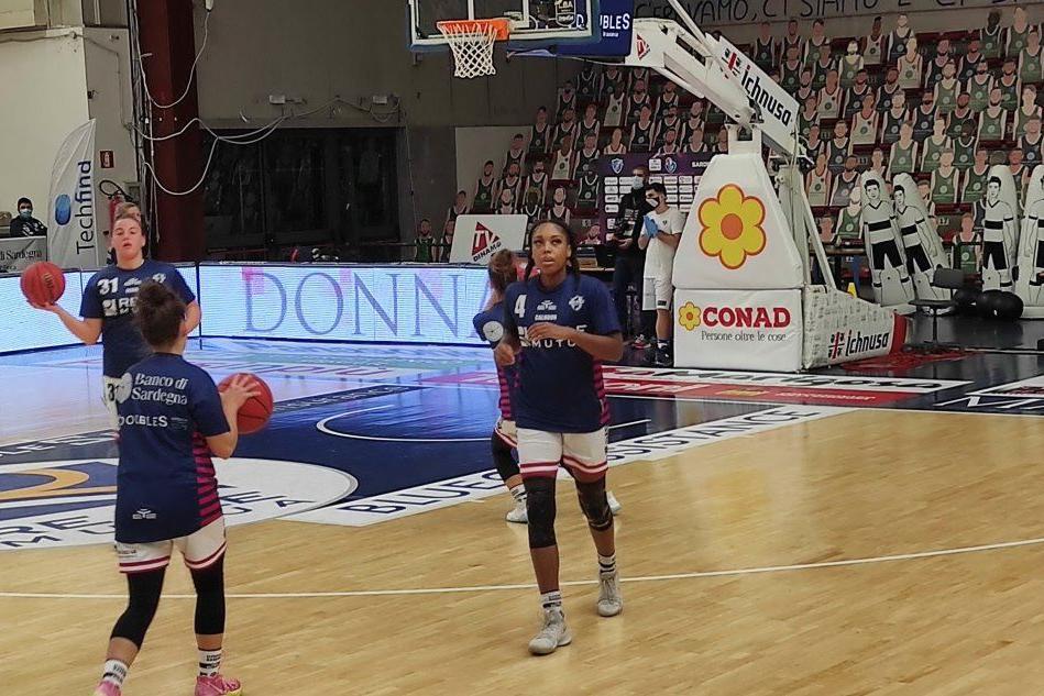 La Dinamo perde a Bologna contro la Virtus 86-65