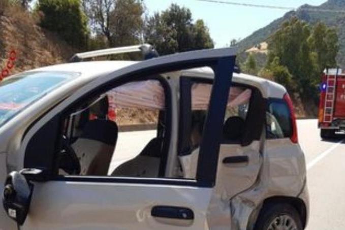 Scontro frontalea Jerzu: grave un uomo di79 anni