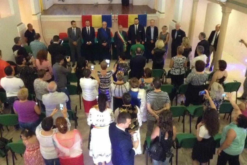 La visita del ministro rumeno a Oristano