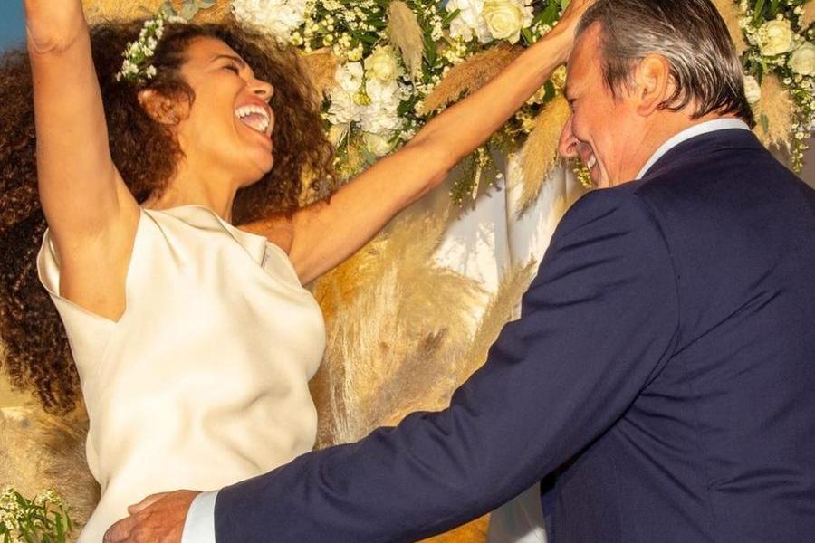 Afef si risposa: cerimonia di nozze in Costa Azzurra