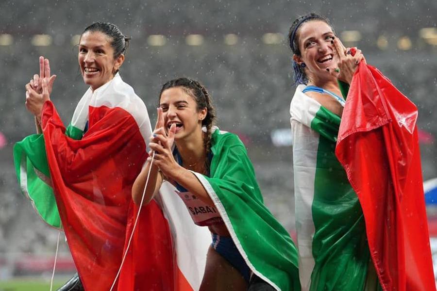 Paralimpiadi, storica tripletta italiana nella finale dei 100 metri femminili