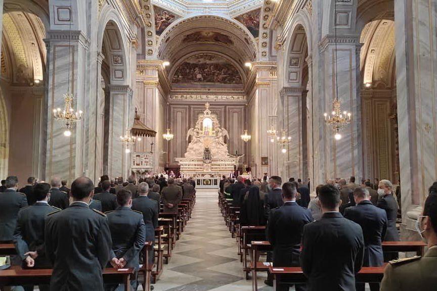 Alla basilica di Quartu il precetto pasquale interforze