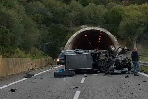 Il luogo dell'incidente (Foto S.Lecca)