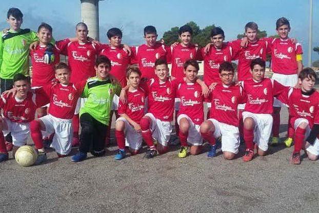 La squadra dei giovanissimi dell'Albagiara