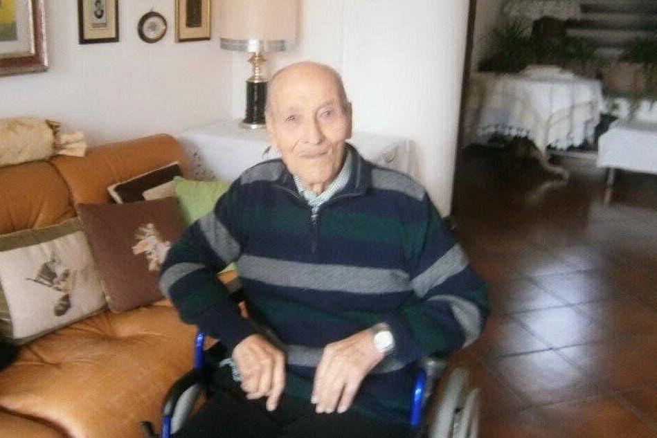 Compleanno da record a Siurgus Donigala: Luigi Boi compie 106 anni