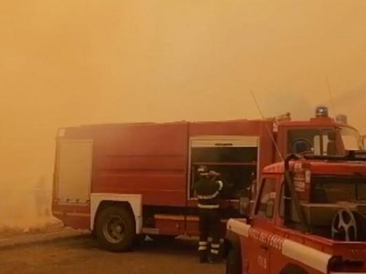"""Il fuoco continua a ferire al cuore la Sardegna: """"Daremo risposte in tempi rapidi"""""""