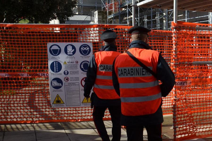 Sicurezza: mancato rispetto delle norme in un cantiere a Villaputzu