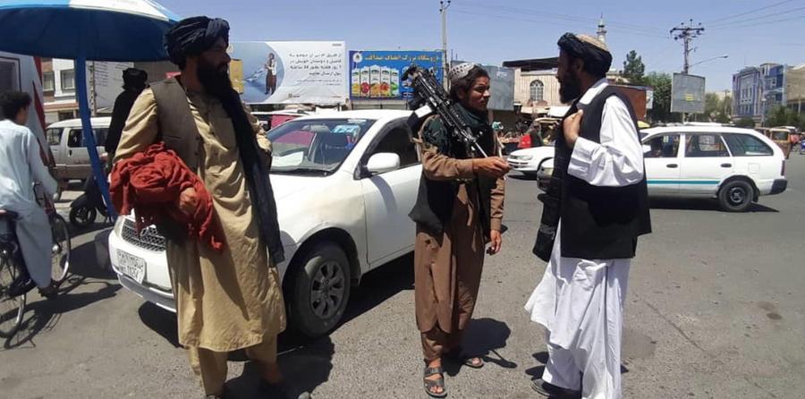 L'avanzata talebana: LE IMMAGINI