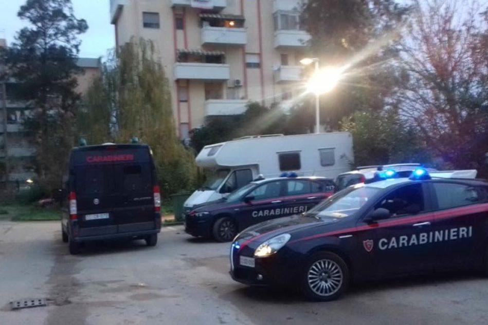 """Carbonia, blitz dei carabinieri per l'operazione """"Maddalena"""""""