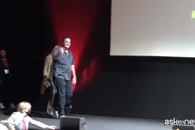 """Quentin Tarantino a Roma: """"Il prossimo film? Forse un Kill Bill 3"""""""