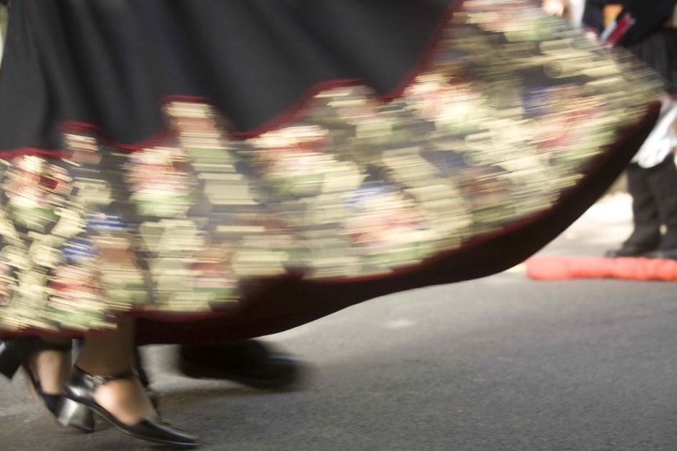 A Torino il corso di danze sarde