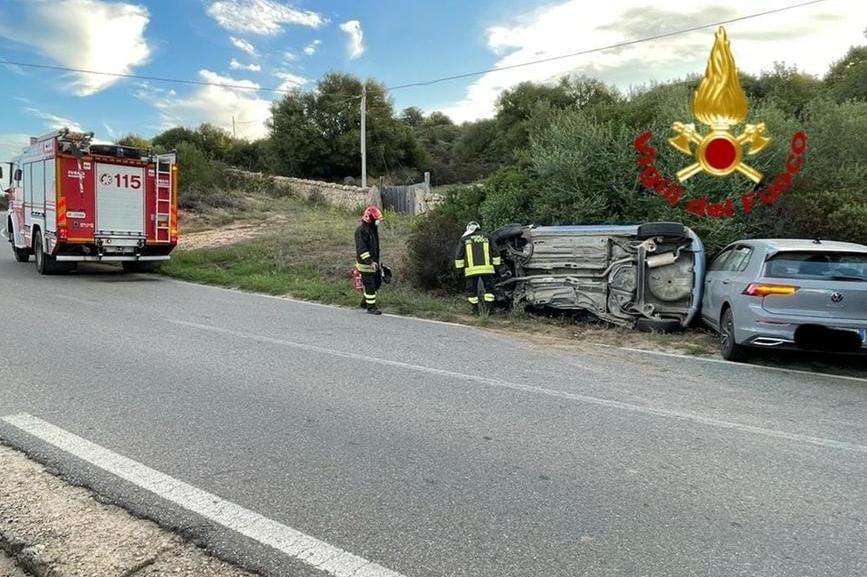 Scontro frontale a Baia Sardinia: due persone in ospedale