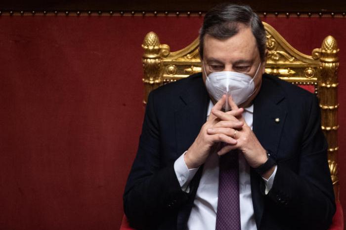 Mario Draghi (Ansa - Brambatti)