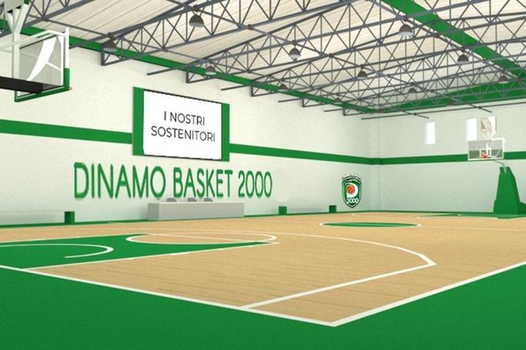 Il progetto per il nuovo campo di basket (foto concessa)