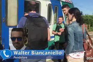 """Guasto al treno Trenord, un testimone racconta: """"Fumo e tanta paura"""""""