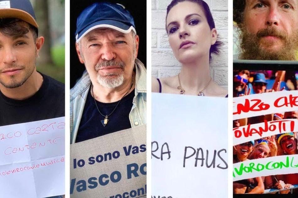 """I cantanti uniti per la Musica: """"La politica non ignori i lavoratori del settore"""""""