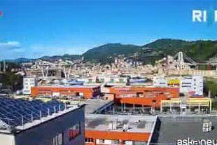 Nuovo ponte di Genova, la costruzione in timelapse