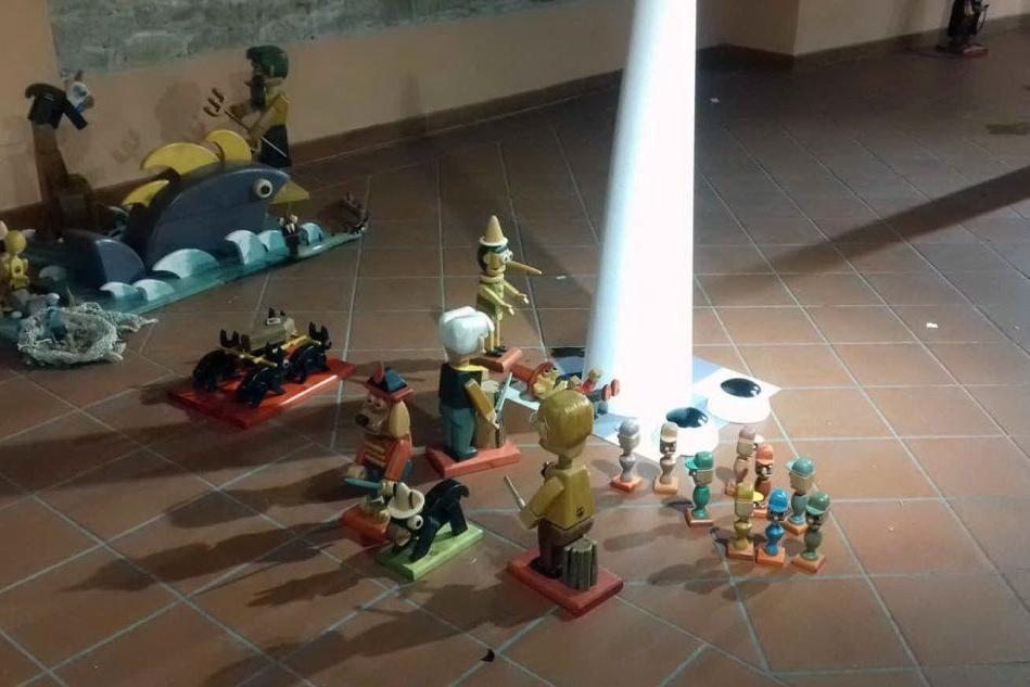 A Baradili Pinocchio e i personaggi di Collodi rivisitati da Maestrodascia