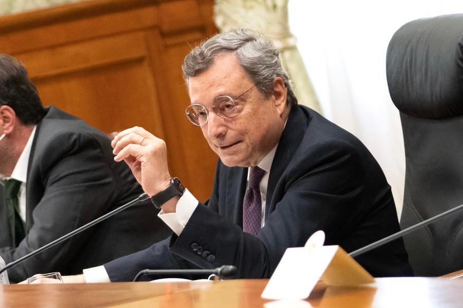Draghi tra i cento personaggi più influenti del 2021 secondo Time: è l'unico italiano