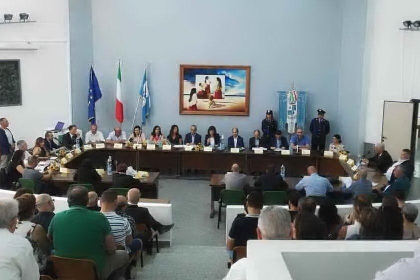 Il Consiglio comunale di Sinnai (Foto Andrea Serreli)