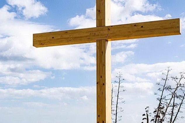 La nuova croce alla Sella del Diavolo, lo scatto è di @js_photo_art