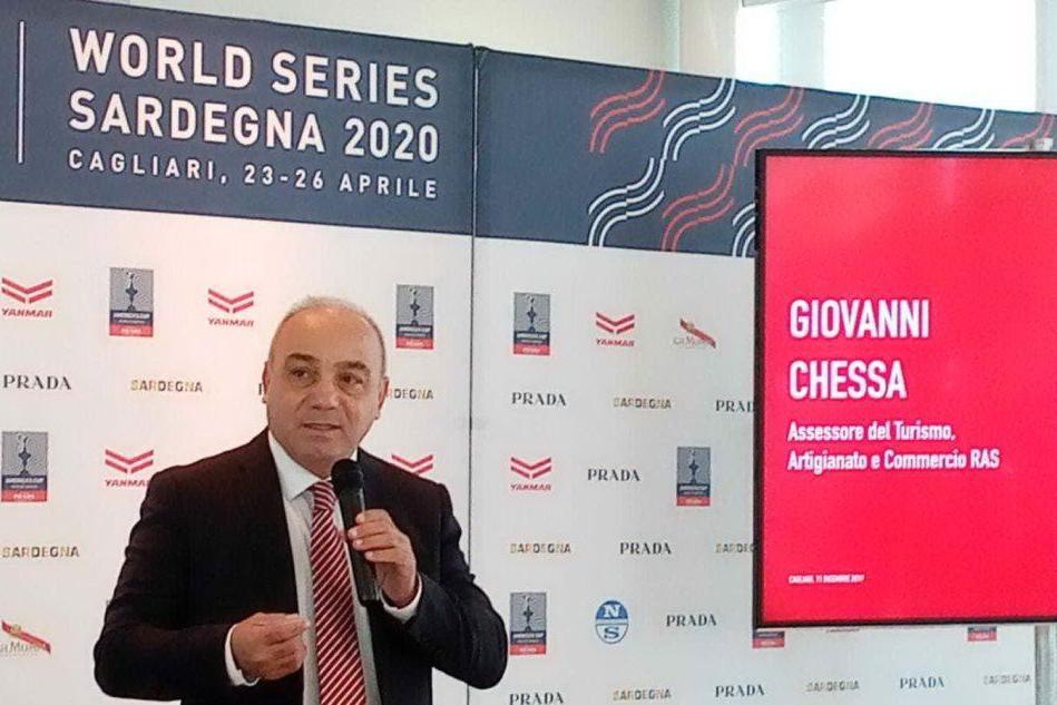 America's cup a Cagliari, intervista all'assessore Chessa