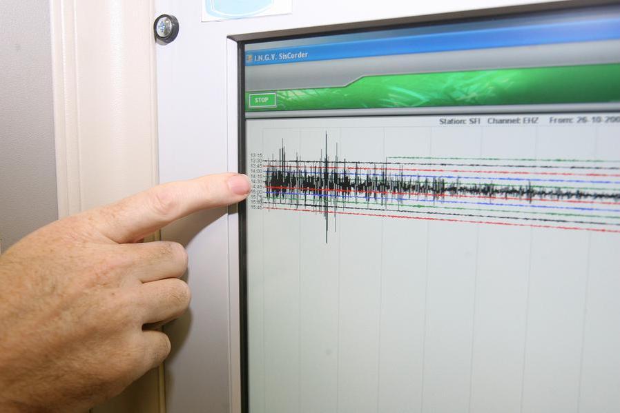 Un terremoto (Ansa)