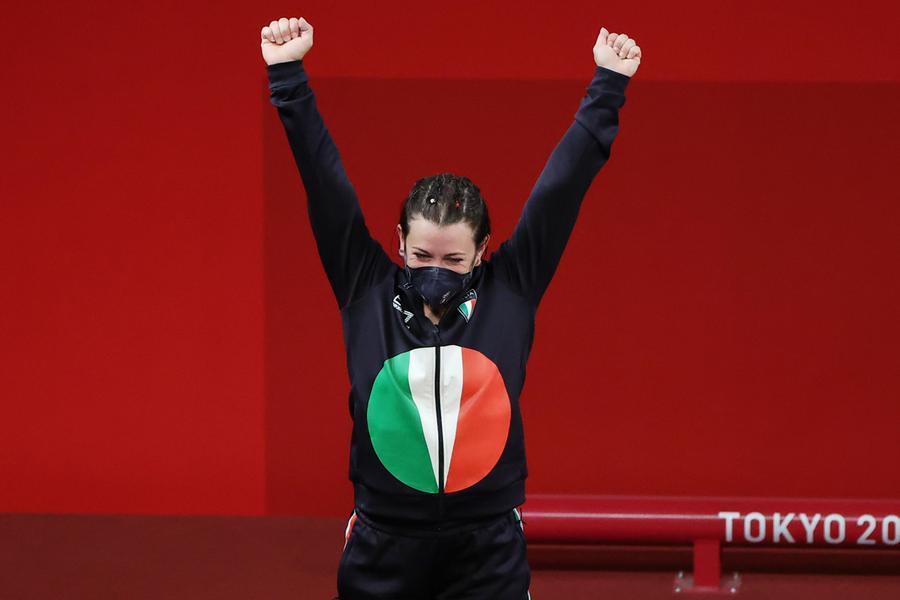 Tokyo2020, Bordignon argento nel sollevamento pesi. Bronzo per judo e spada femminile a squadre