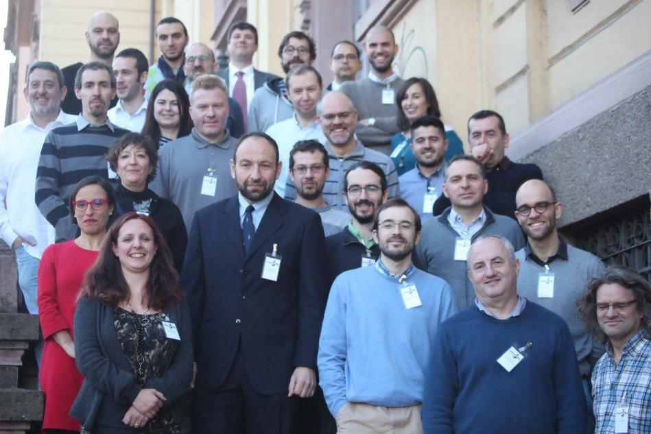 I ricercatori del progetto Cerbero