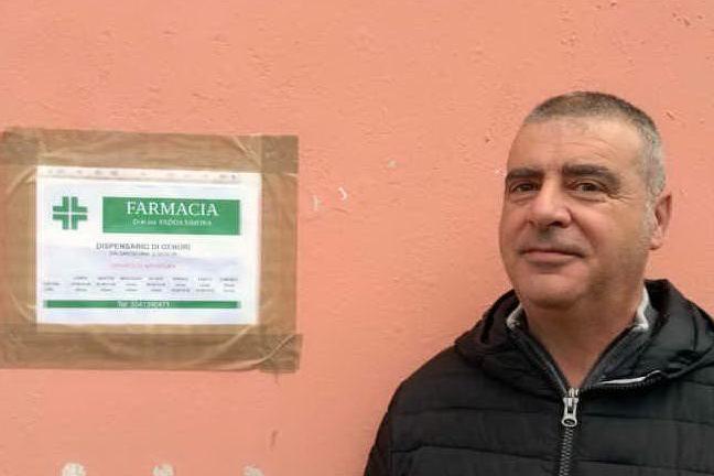 Danilo Piras, sindaco di Genuri (foto Pintori)