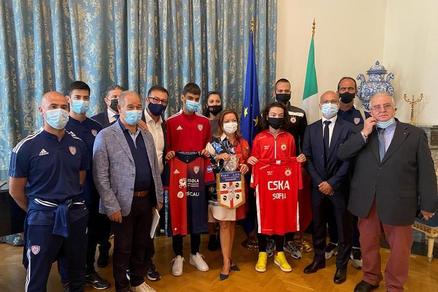 A Sofiail torneo internazionale Red Cup –Sardegna Bulgaria