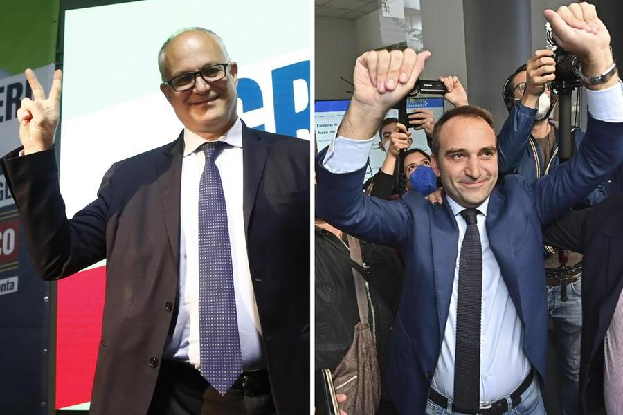 """Ballottaggi, a Roma festeggia Gualtieri: """"Rilanceremo la Capitale"""". Anche Torino al centrosinistra con Lo Russo"""
