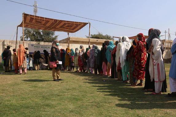 Vaccinazioni in Pakistan (Ansa)