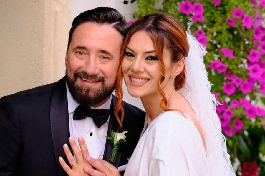 Federico Zampaglione e Giglia Marra si sono sposati, le nozze in Puglia