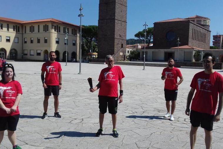 Parte da Carbonia la fiaccola degli Special Olympics Game