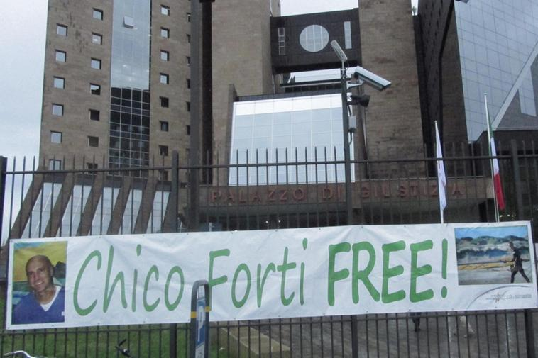 """Chico Forti scrive a Jo Squillo e Alfonso Signorini: """"Presto ci vedremo"""""""