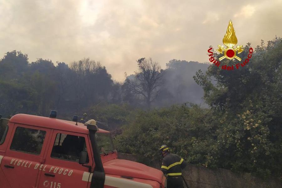 (Foto Vigili del fuoco)