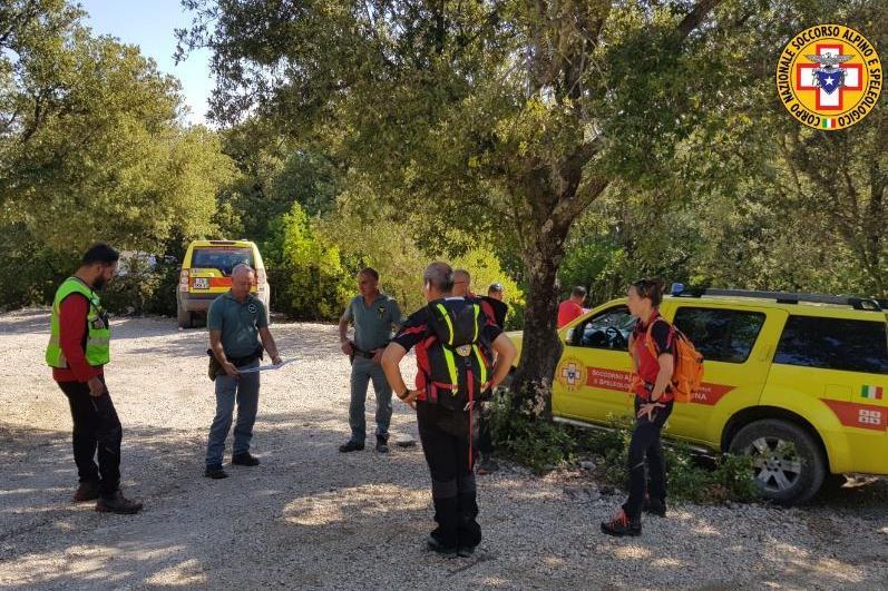 Le squadre di soccorso