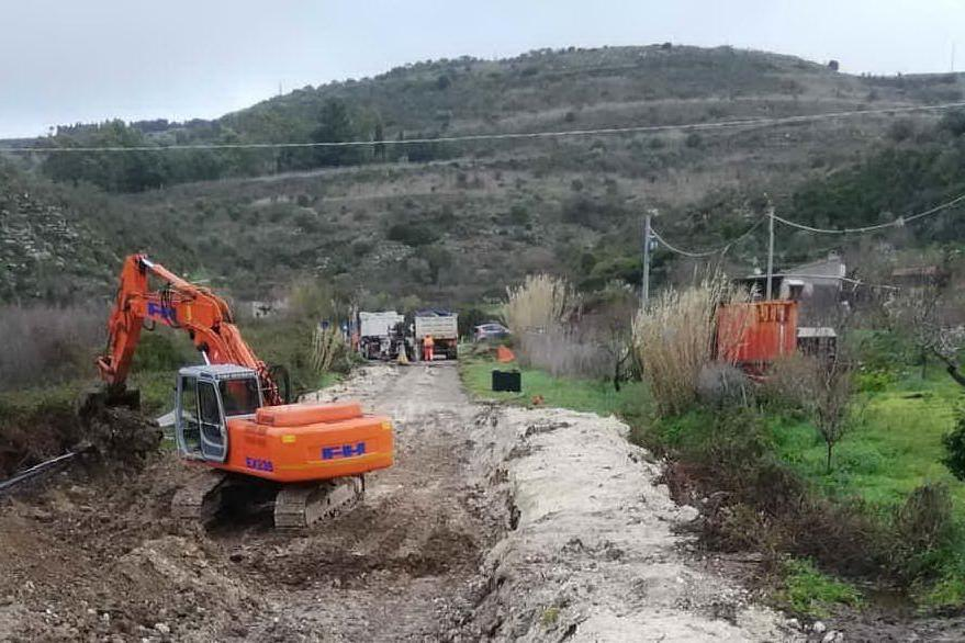 Provinciale Ossi-Florinas, al via i lavori di ripristino dopo la frana