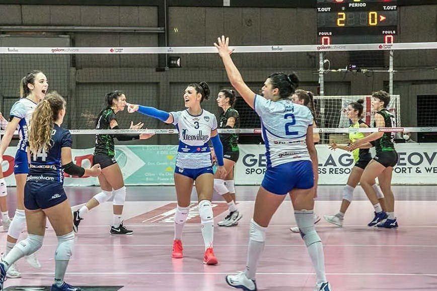 L'Hermaea Olbia ritrova il successo: Club Italia sconfitto 3-0