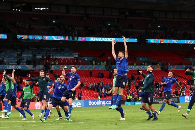 Wembley tricolore, l'Italia aspetta l'avversaria ai quarti: Belgio o Portogallo